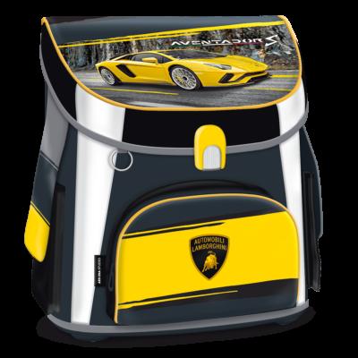 Lamborghini mágneszáras iskolatáska