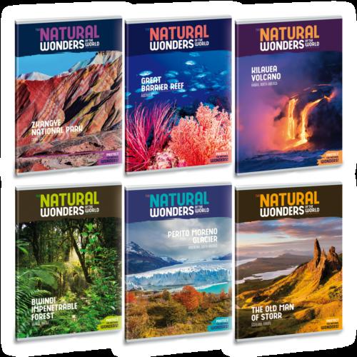 Ars Una Natural Wonders A4 füzetcsomag - vonalas