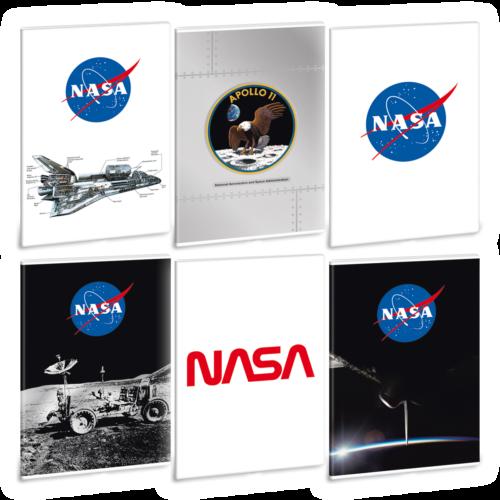 Ars Una NASA A4 füzetcsomag - négyzethálós