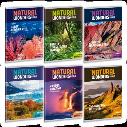 Ars Una Natural Wonders A5 füzetcsomag - sima