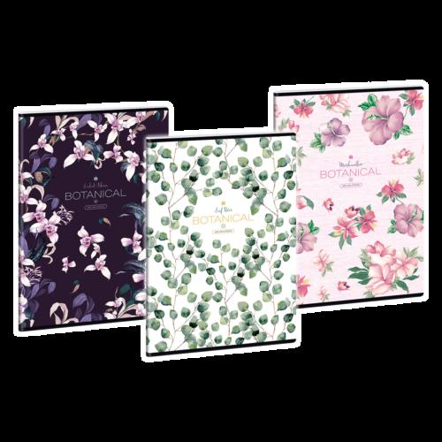 Ars Una Botanical-Mix A4 füzetcsomag - sima