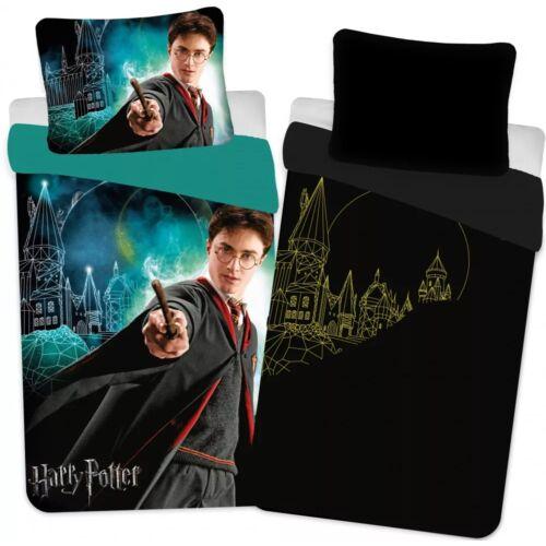 Harry Potter sötétben világítós ágyneműhuzat garnitúra 140x200