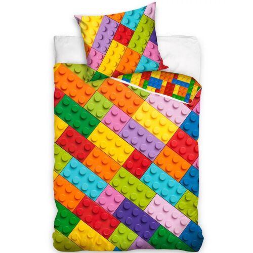 Bricks Lego gyermek ágyneműhuzat garnitúra 140x200