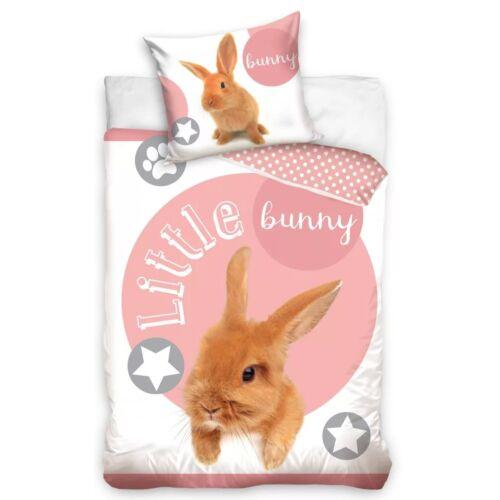 Bunny nyuszis ágyneműhuzat garnitúra 140x200