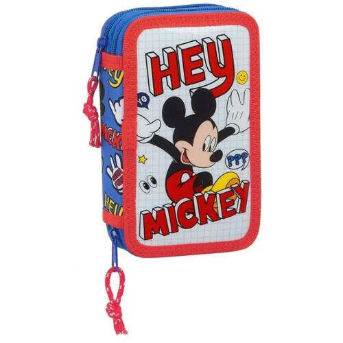 Mickey Egér 2 emeletes töltött tolltartó