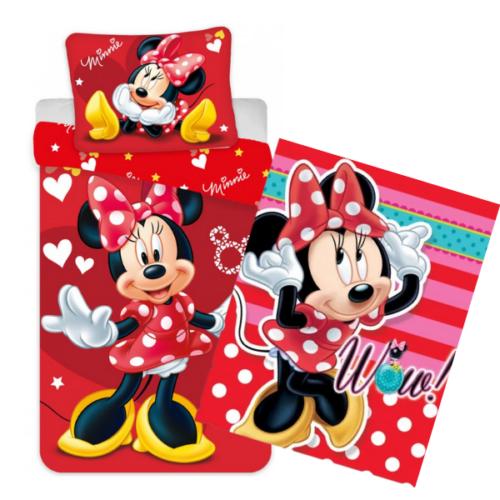 Disney Minnie ovis ágynemű és polár takaró