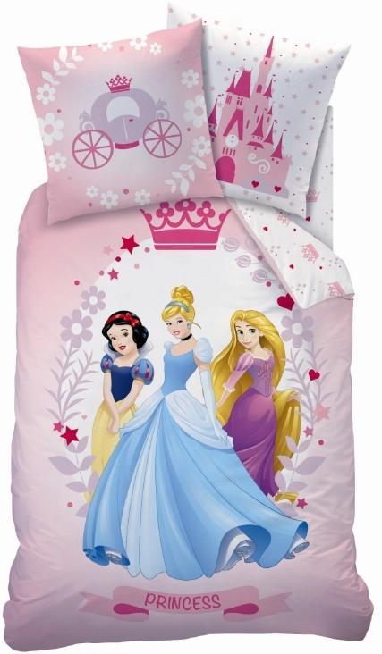 Disney Hercegnők gyermek ágyneműhuzat garnitúra kék 140x200 4d49f21cfe