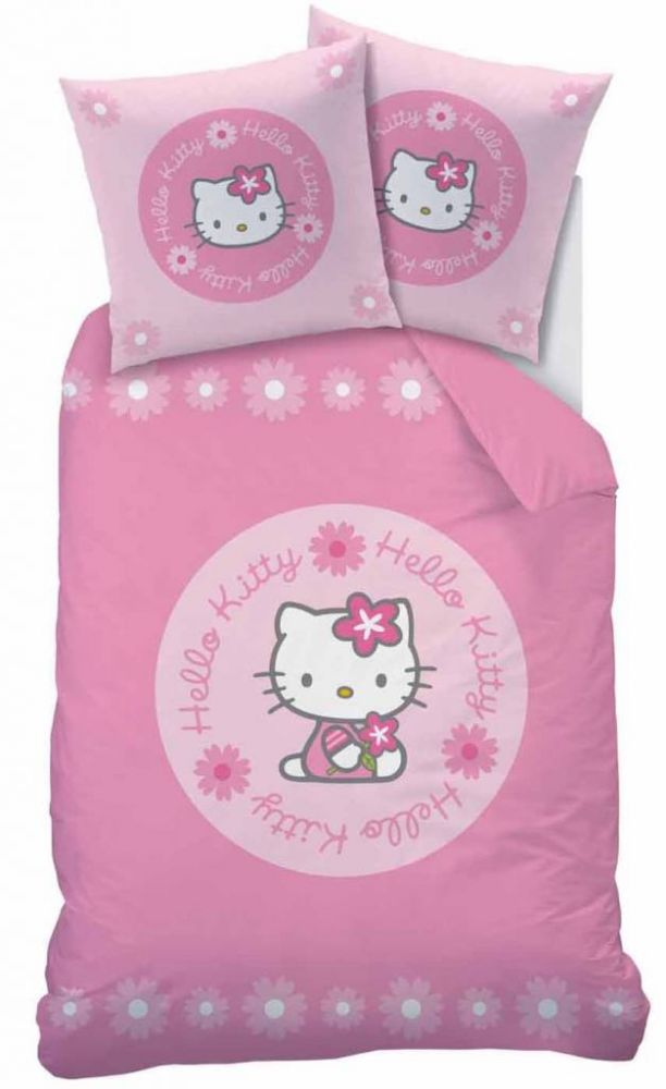 Hello Kitty gyermek ágyneműhuzat garnitúra 140x200 81cec97498